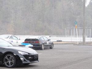 まさか、3月末の愛知県イベントで吹雪なんて・・・